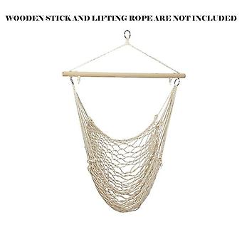 Hanging Portable Hammock Chair Wall Hang Swing Rope Outdoor/indoor Garden Hanging Kids Seat Courtyard Gadgets