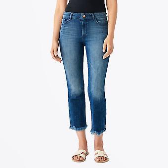 DL1961  - Bridget Crop Bootcut Jeans - El Camino