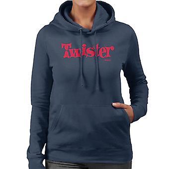 Twister Red Logo Women's Hooded Sweatshirt