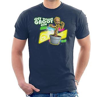 Marvel Guardians Of The Galaxy holen Sie Ihre Groot auf Männer's T-Shirt