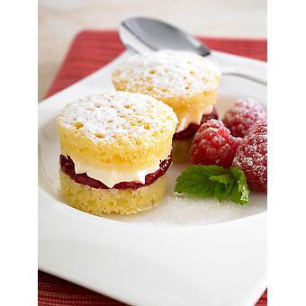 Frank Dale Frozen Mini Victoria Sponge Cakes