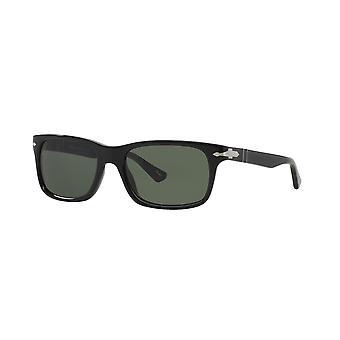 Persol PO3048S 95/31 Svart/Kristallgröna solglasögon