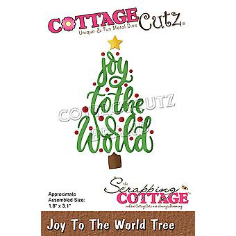 Scrapping Cottage Joy To The World Tree