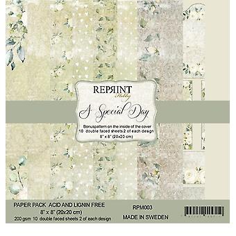 Reprint A Special Day 8x8 Inch Paper Pack