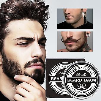 Gentlemen Beard Balm Wax For Conditioner Mustache & Hair Softener Cream