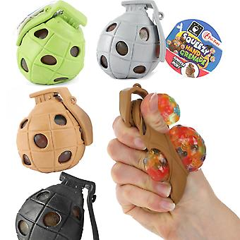 2-Pack Squeezy Hand Grenade Ball Stress Ball Antistress Ball