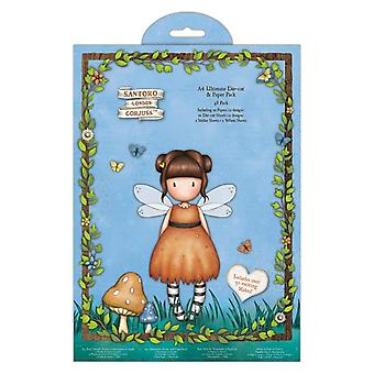 Gorjuss Faerie Folk A4 Ultimate Die-Cut & Paper Pack