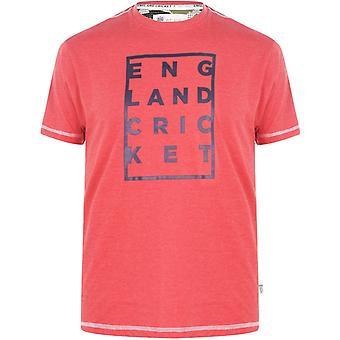 England Cricket Cricket Box Graphic Replica T Shirt Mens