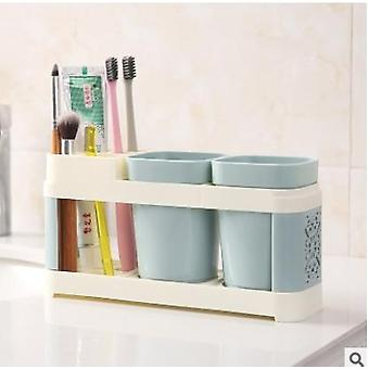 Toothbrush, Toothpaste Holder Suits - Bath Set, Storage Racks For Bathroom