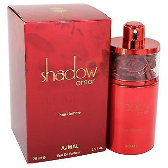Ajmal Shadow Amor Eau De Parfum Spray By Ajmal 2.5 oz Eau De Parfum Spray