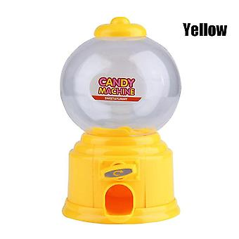Mini Candy Machine Bubble Gumball Dispenser Coin Bank For Kids