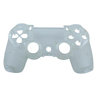 Front housing for ps4 sony wireless controller shell replacement - matte transparent | zedlabz