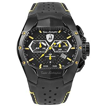 Tonino Lamborghini - Wristwatch - Men - GT1 - yellow - T9GE