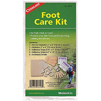 Coghlan's Foot Care Kit, Pre-cut Moleskin, Adhesive Strips & Antiseptic Swabs