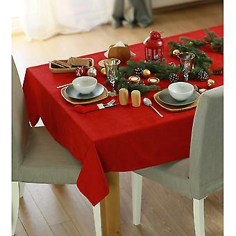 """70"""" Frohe Weihnachten Rechteck Tischdecke in rot"""