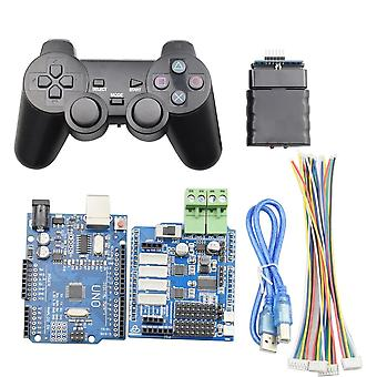 Ps2 Handle Wireless Controller For Smart Mecanum Wheel Robot Car Robotic Arm With Uno R3 For Arduino