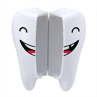 Cute Smile Teeth Style Sucker Toothbrush Holder