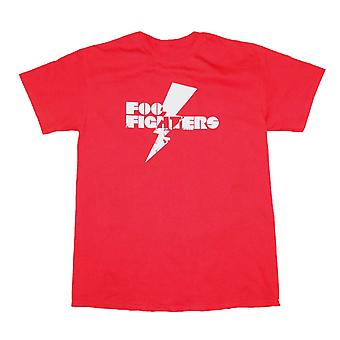 Foo Fighters T Shirt Foo Fighters Red Lightning T-Shirt