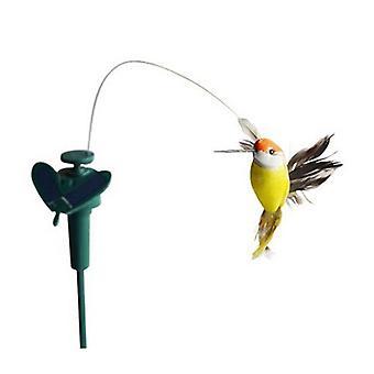 Funny Solar, Flying Fluttering Hummingbird Decor