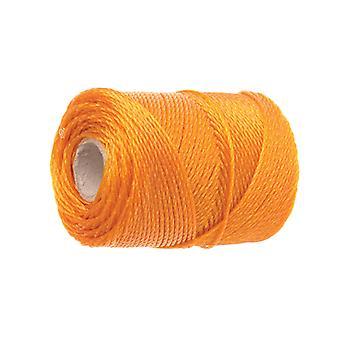Faithfull 3100 Polyethylene Brick Line 100m (328ft) Orange FAI3100