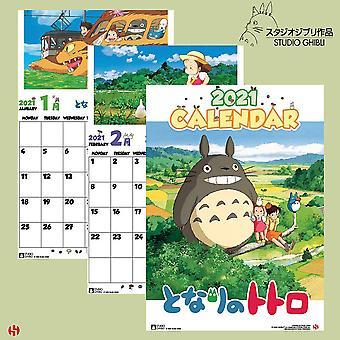 Studio Ghibli Totoro Special Calendar 2021 Official Calendar 2021, 12 months, original English version.