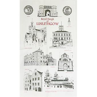 Linlithgow Tea Towel by Linlithgow Civic Trust