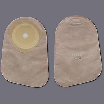 Hollister Colostomia Bolsa Premier Sistema de peça única 9 polegadas comprimento 5/8 a 2-1/8 polegada stoma corte final fechado para fi, contagem transparente 30