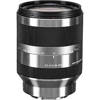 SONY SEL 18-200MM F3.5-6.3 OSS Argent (SEL18-200) 67MM MOUNT