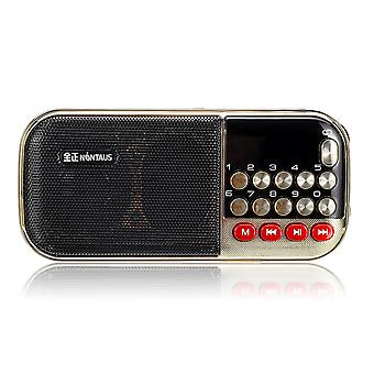 Portable FM 87.5-108MHZ 85dB Radio MP3 Player Stereo Speaker
