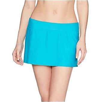Marca - Coastal Blue Women's Swimwear Bikini Bottom, Mar, M (8-10)