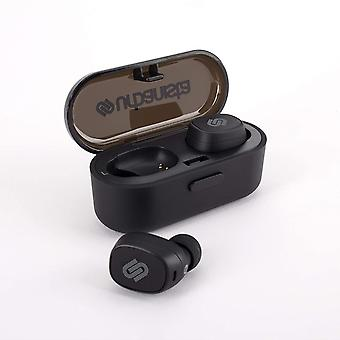Urbanista Tokyo True Wireless Stereo Bluetooth Earphones [ TRUE WIRELESS FREEDOM ], IPX4 Rated Water Resistant, Button Control with Microphone - Dark Clown