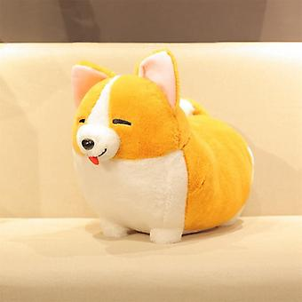 Lovely Corgi Dog Plush Toy Stuffed Soft Animal Cartoon Pillow Cute Christmas