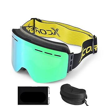 Lunettes Snowboard Snow-eyewear Anti-brouillard Big Ski-mask Glasses Uv Protection