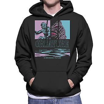 The Creature From The Black Lagoon Illustration Men's Hooded Sweatshirt