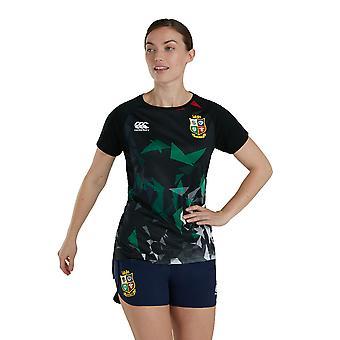 Britse en Ierse Lions Womens Super Lichtgewicht T-shirt