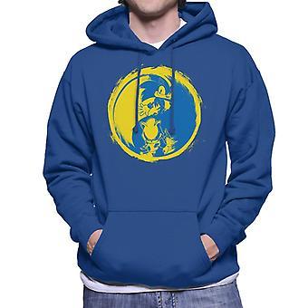 Sonic The Hedgehog Yin Yang Men's Hooded Sweatshirt