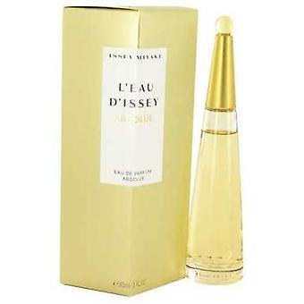 L'eau D'issey Absolue By Issey Miyake Eau De Parfum Spray 3 Oz (women) V728-501296
