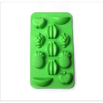 Creative Ice Cube Mold Siliconen Ice Tray - Fruit Ice Cube Maker