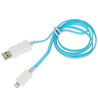1m 8 tűs port látható fény USB sync adatok / töltőkábel, iPhone XR / iPhone XS MAX / iPhone X & XS / iPhone 8 & 8 Plusz / iPhone 7 & 7 Plusz / iP