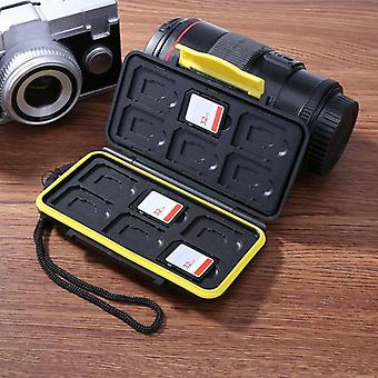 Waterproof Memory Card Carrying Case, Holder Box For Sd/sdhc/sdxc/micro Sd/tf