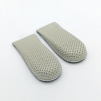1 paio di solette per scarpe traspiranti Half Heighten Heel Insert Sports Shoes Pad