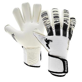 Precision Elite 2.0 Giga Negative Erwachsene Fußball Torwart Handschuh Weiß/Schwarz