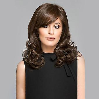 Women's Wig Women's Short Side Bangs Curly Hair Fashion Realistic