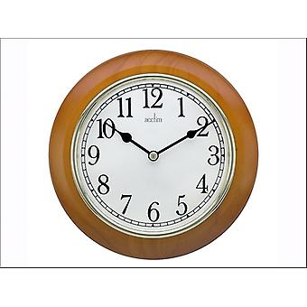 Acctim Maine Wood Wall Clock 24170