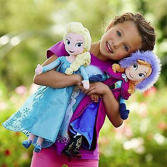 Frozen Anna Elsa Dolls Snow Queen Princess Stuffed Peluche Compleanno Natale