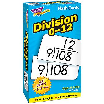 Division 0-12 Skill Drill Flash Cards