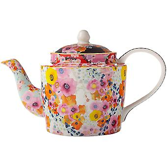 Maxwell & Williams Cashmere Bloems Floral Teapot, Gift Boxed, Bone China, Multi Colour, 750 ml
