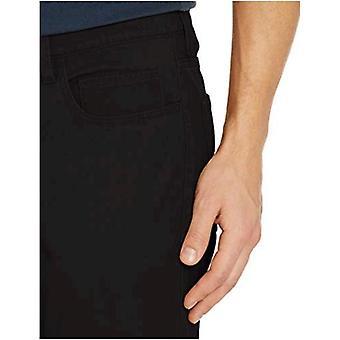 Goodthreads Men's Skinny-Fit 5-Pocket Chino, Black, 38W x 28L