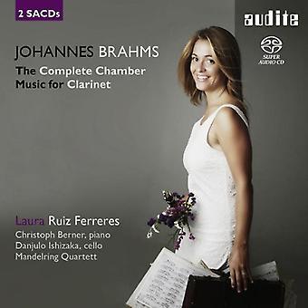 J. Brahms - Johannes Brahms: De Complete kamermuziek voor klarinet [SACD] USA import
