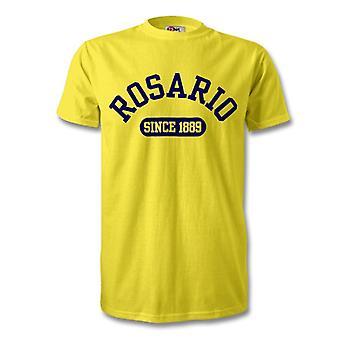 Rosario Central camiseta de fútbol de 1889 establecidas
